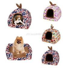 Pet Dog Cat Bed House Kennel Doggy Puppy Warm Cushion Basket Nesting Pads Mats