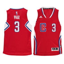 Chris Paul LA Clippers Youth Red Swingman Basketball Jersey - NBA