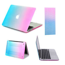 Rubberized Hard Shell Case Cover Keyboard for Apple MacBook Air 11/13 Pro 13/15