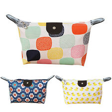 Waterproof Cosmetic Makeup Bag Pencil Case Storage Pouch Purse Travel Handbag
