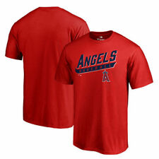 Los Angeles Angels of Anaheim Red Baseline T-Shirt