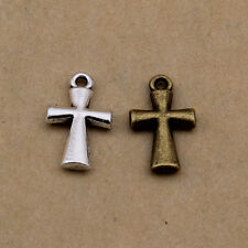 35pcs Bronze Cross Charms,Alloy Vintage Charm Pendant for jewelry making XBL3894