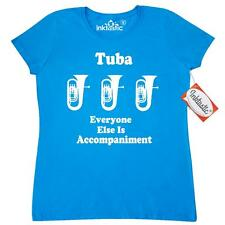 Inktastic Funny Tuba Player Music Joke Women's T-Shirt Marching Band Gift For