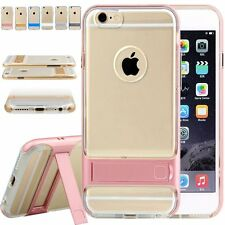 Ultra-Thin Soft Translucent Rubber Bumper Case Cover Fr Apple iPhone 6 6S 7 Plus