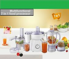 400W Multifunction 7-in-1 Food Processor For home and kitchen use