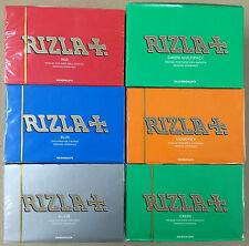 ALL RIZLA REGULAR ROLLING PAPERS FULL BOX 100 BOOKLETS MULTIPLE VARIATIONS CHEAP