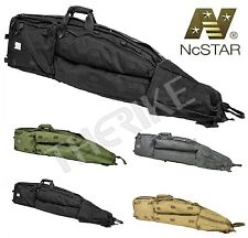 NcSTAR Drag Bag Rifle Long Double Rifle Gun Case Military Police Tactical Swat