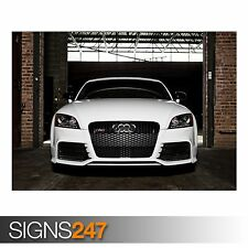 AUDI TT-RS (AA723) CAR POSTER - Photo Picture Poster Print Art A0 A1 A2 A3 A4