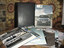 2008 08 BMW 5-Series owners manual with case 76