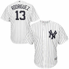 Majestic Alex Rodriguez New York Yankees White Cool Base Player Jersey