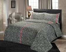 HDN Vargas Printed Luxurious Quilted Bedspread