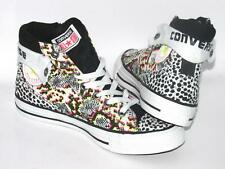 Womens CONVERSE CT UPTOWN MID Snake Canvas Zipped Trainers 144197F
