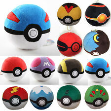 Pokemon Pikachu Pokeball Master Poke BALL Plush Toy Pendant Xmas Gifts Soft Doll