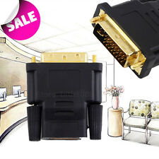 #DVI Male to HDMI Female adapter Gold-Plated NEW M F Converter For HDTV LCD best