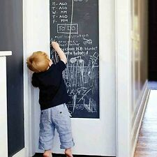 Chalk Board Blackboard Vinyl Wall Sticker Decal Removable Chalkboard 200X45cm