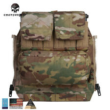 Emerson Back Pack By Zip Panel FOR Plate Carrier AVS JPC2.0 CPC Molle MC CB 9286