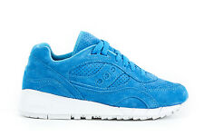 SAUCONY Mens Sneakers GRID 8000 Trainers Shoes S70222-4 Blue Suede Leather