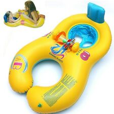 Baby Swimming Ring & Mother And Child Swimming Circle Double Inflatable Rings