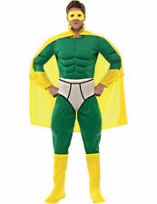 Adult Mens Captain Y-Fronts Super Hero Fancy Dress Costume Outfit