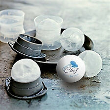 Round Ice Balls Maker Tray Large Sphere Molds Cube Whiskey Cocktails Mold cozy