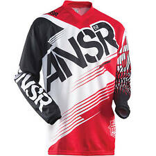 Answer NEW Mx Gear Syncron Red Kids Moto Dirt Bike Youth Motocross Jersey SALE
