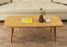 Folding Legs Side Sofa Center Table Modern Wooden Japanese Coffee Table 4 Colors