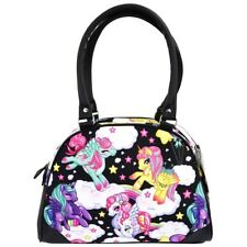 Liquorbrand Pegasus Unicorn Bowler Bag Kawaii Rockabilly Tattoo Pinup Handbag