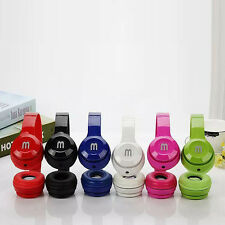 Over-Ear Adjustable 3.5mm Earphone Stereo Headset Headphone with mic MP3 iPhone7