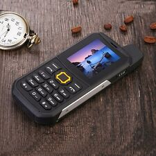 F8 Unlocked cell phone walkie talkie waterproof bar phone PPT Quad Band dual SIM