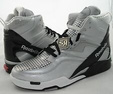 New 10.5 Reebok Pump TWILIGHT ZONE N-DROID Gray Black Dominique Wilkins Phone