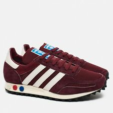 Adidas Originals La Trainer OG Burgundy S79941 (All Size) Vintage Racing R1