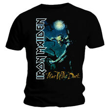 Official IRON MAIDEN Fear Of The Dark T-shirt Black Sizes S to XXL Tree Sprite