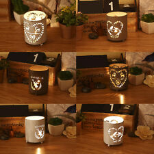 Vintage Rustic Metal Votive Tealight Candle Holders Christmas Centerpieces