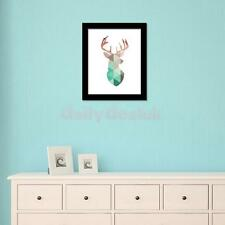Modern Canvas Wall Hanging Art Painting Picture Christmas Reindeer Poster Decor