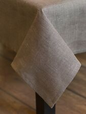 Tablecloth made from canvas Table runner Linen tablecloth Beige 100% Linen