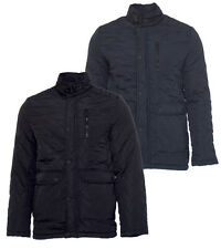 Mens Jacket Coat Quilted Padded by Brave Soul Mine