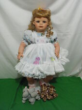 "VIRGINIA EHRLICH TURNER ""TWO BY TWO"" DOLL 2004 LIMITED EDITION 150 w BOX COA 26"""