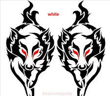 1set/2pcs car truck auto fox Racing body side hood stripes sticker auto decal
