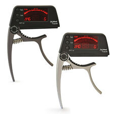 Meideal Capo20 Guitar Bass Clip on Tuner Quick Change Trigger Capo Clamp