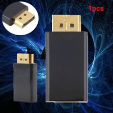 New Display Port DP Male To HDMI Female Adapter Converter Adaptor for HDTV EW