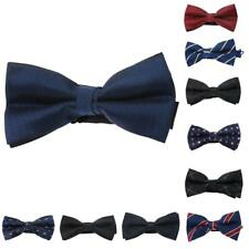 Men Stylish Bow Tie Necktie Bow PreTied Hook for Wedding Party Formal Prom Decor