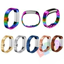 Stainless Steel Accessory Watch Band Metal Strap Bracelet For Fitbit Alta Watch