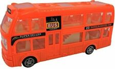 Toyze And Bump And Go Action, Double Decker Bus Toy, With Lights And Sounds. TZ