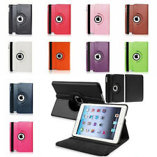 360 Rotating Folio Stand Smart Leather Case Cover For Apple iPad 2 3 4 MIni Air