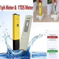 Digital LCD PH Meter TDS EC Water Purity PPM Filter Hydroponic Pool Tester LS