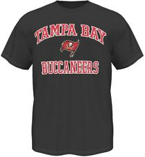 Tampa Bay Buccaneers Majestic NFL Heart & Soul III Charcoal Men's T-Shirt