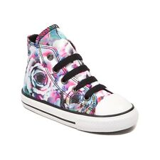 NEW Toddler Converse Chuck Taylor All Star Hi Roses Sneaker Pink Infant Girl