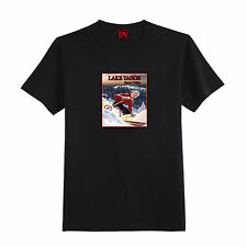 Vintage Squaw Valley Lake Tahoe Skier T-Shirt