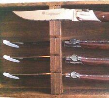 Legnoart steak knife set 4  NEW