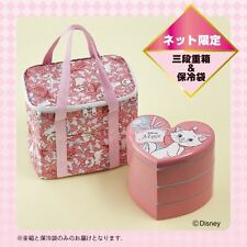 DISNEY Marie  Monsters Picnic Lunch box Cool Bag  Bento Case Made in Japan E2726